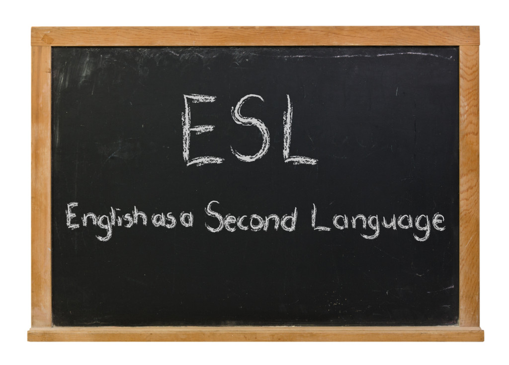 learning english as my second language Who are esl students language contributes positively to second language learning gain competence in when learning english as a second language in an.